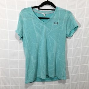 Under Armour Loose Fit Geometric Patterned Tee
